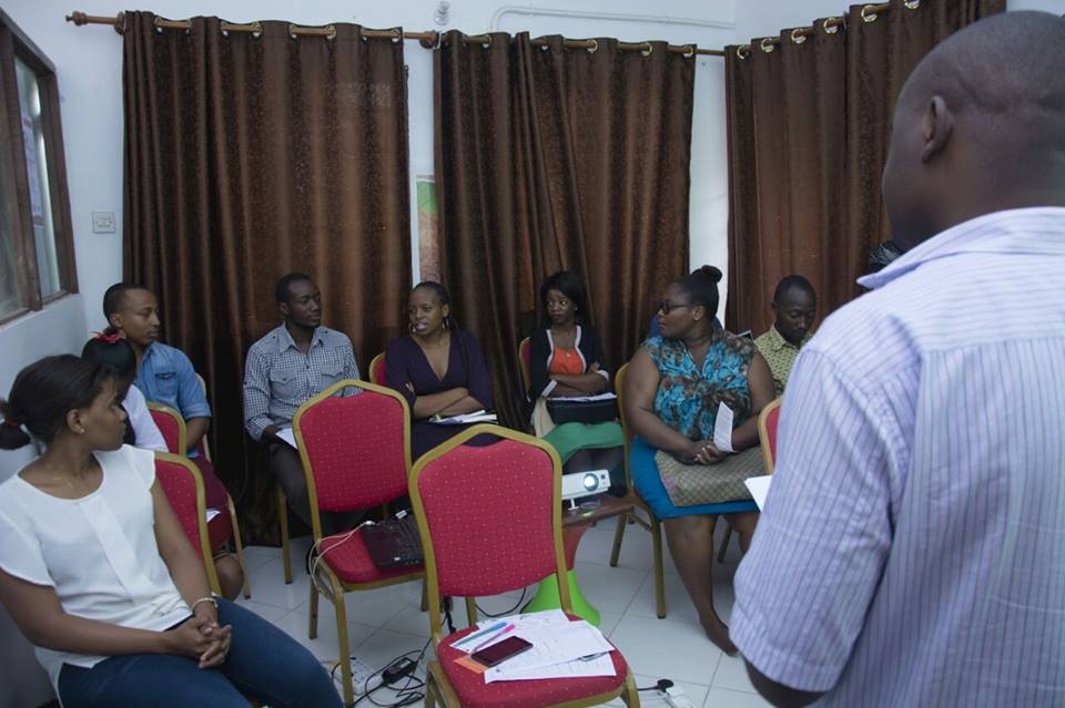 Active for Future local workshops in Dar Es Salaam, Tanzania