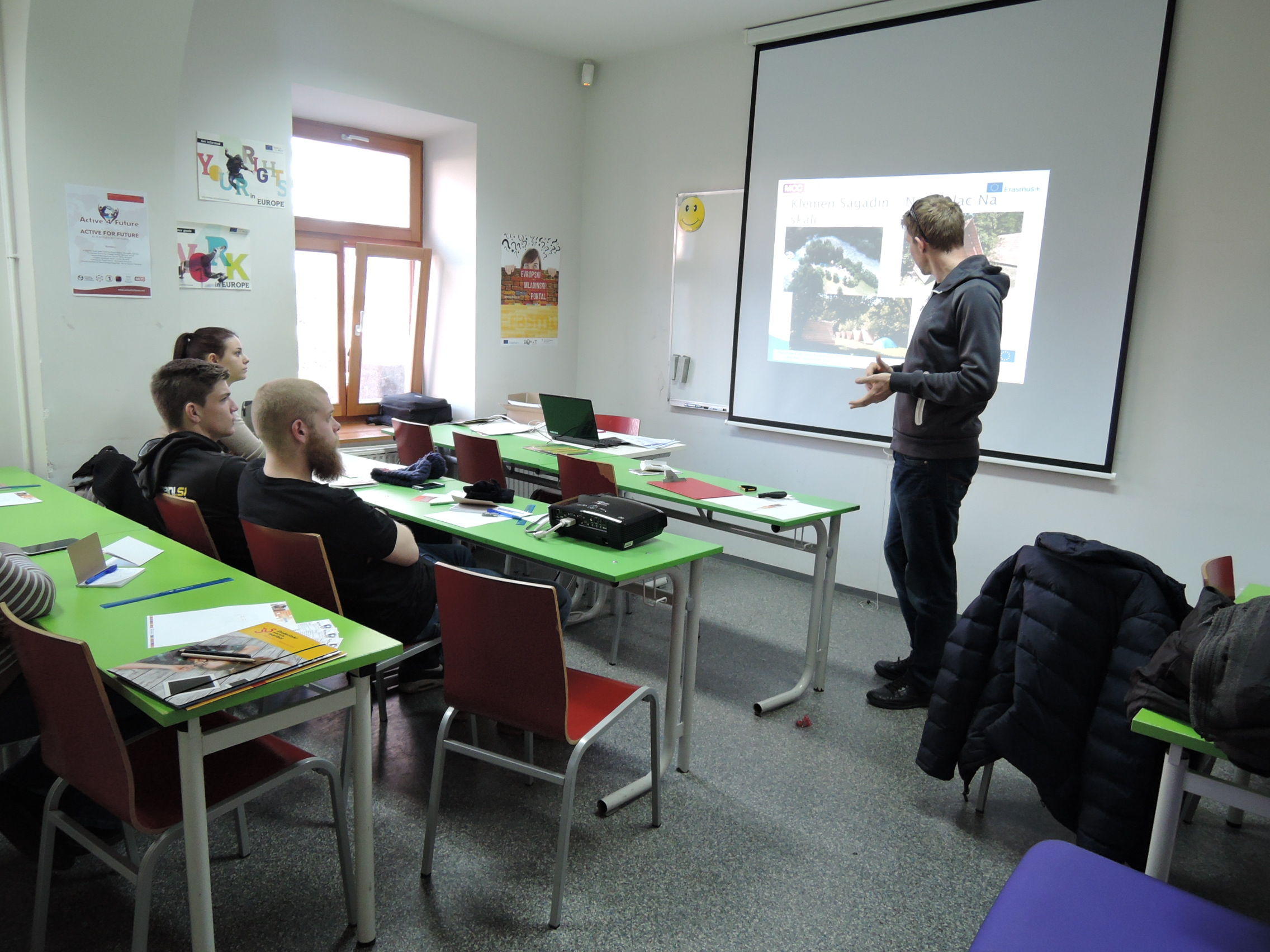 Active for Future local workshops in Celje, Slovenia